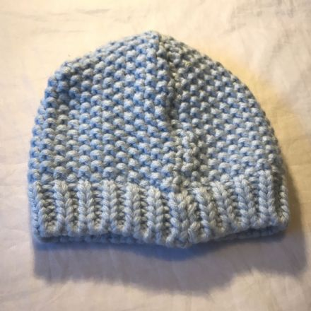 3-6 Month Blue Knitted hat